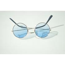 Óculos De Sol Mulher Coloridos Promoção Armação Dourada A56