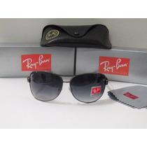 Oculos De Sol Rayban 32012 Grafite Lente Preta Degrade