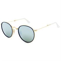 Óculos Masculino De Sol Ray Ban Round Craft Dobrável