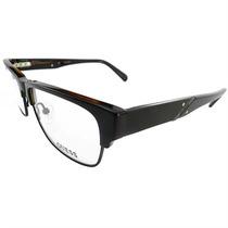 Óculos De Grau Masculino Guess Preto E Âmbar - Gu1783blk