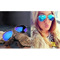 Óculo De Sol Feminino Modelo Aviador Frete Grátis