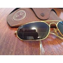 Ray Ban Bausch Lomb Caçador Aviador De Sol Oculos Original