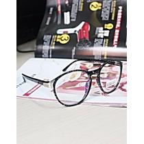 Armação Óculos De Grau Fake Redondo / Vintage / Retrô