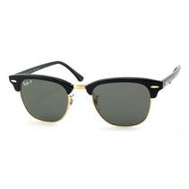Oculos Sunglasses Primeira Linha Rayban Rb3016 Clubmaster