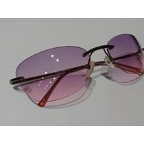 Óculos De Sol Unissex Italy Design Haste Metal Super Novo