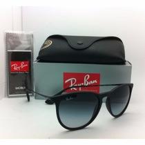 Óculos De Sol Ray Ban Rb4171 Velvet Preto Fosco Lentes Degra