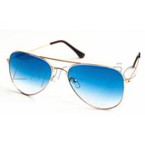 Óculos De Sol Estilo Aviador Uv400 Frete Grátis