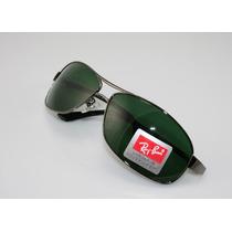 Oculos De Sol 3343 Demolidor Grafite Lentes Verdes