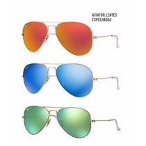 Óculos Ray Ban Aviador Rb3025/3026 Rayban Original + Frete