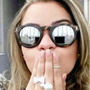 Óculos De Sol Feminino Illesteva Espelhado - Varias Cores