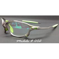 Oculos Romeu E Juliet Transparente Com O Cabo Emborrachado
