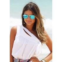 2 Óculos Feminino Aviador - Vc Escolhe A Cor-super Promoção