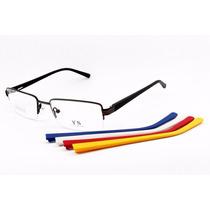 Óculos Troca Hastes P/ Lentes De Grau 5 Pares - 471074
