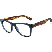 Óculos De Grau Polo Ralph Lauren Azul Translúcido