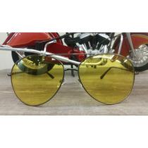 Oculos De Sol Amarelho Para Uso Noturno E Esportes