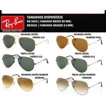 Ray Ban Rb Aviator Rb3025 Ou Rb3026 , Original Frete Grátis