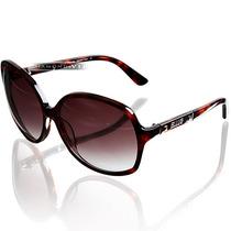 Óculos De Sol Ellus Feminino Marrom Tartaruga Novo Original