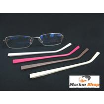 Óculos Em Metal Dourado - Troca Hastes - Armação Para Grau