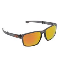 Óculos Oakley Sliver Matte Olive W/fire Polarized