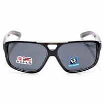 Óculos Arnette Fat City Gloss Black/clear Polarized