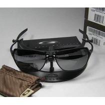 Oculos Da Oakley Com 2 Lentes 1 Polarizada E 1 Resina.