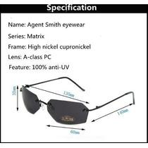 Óculos De Sol Modelo Agent Smith Matrix Frete Grátis