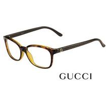 Armação Feminina Gucci Modelo Gg 3629 Dxh - 53