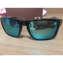 Oculos Holbrook Moto Gp Black Lente Espelhada Azul Polarized