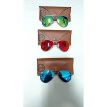 Óculos De Sol Ray-ban Espelhado - Rb3025