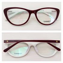 Armação Óculos De Grau Acetato Ch3288