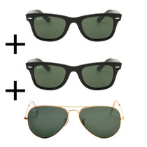 Oculos Rb 2 Wayfarer + Aviador Promoção