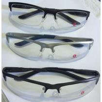 Armação Para Óculos De Grau Em Alumínio Antialérgica Rb1324