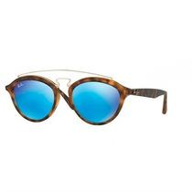 Óculos De Sol Ray Ban New Gatsby Tartaruga Lente Azul