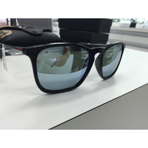 Oculos Solar Ray Ban Rb 4187 Chris 601/30 54 Made In Italy