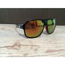 Óculos Absurda - Estilo Policial - Preto Lentes Espelhadas