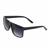 Óculos De Sol Preto Luxo Mulher Homem Feminino Importado