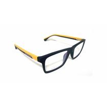 Armação Armani P/ Óculos De Grau Masculina Feminina Ea