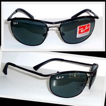 Óculos Demolidor 8012 Preto Lentes Verdes Polarizado