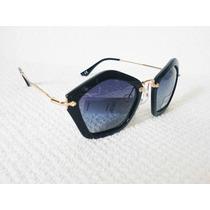 Oculos De Sol Amor Preto