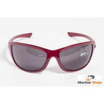 Óculos De Sol Spy - Original - Mod. Link 44 Vermelho Escuro