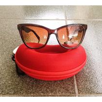 Óculos De Sol Estilo Gatinho - Marrom
