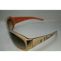 Óculos De Sol Guess Gu 6229 Crm/34 Bege Semi Novo Exclusivo