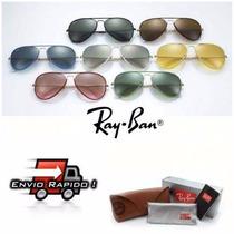 Óculos Ray Ban Aviador Full Color Original Frete Grátis