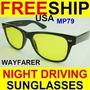 Óculos Night Drive Proteção Lentes Amarelas