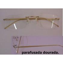 Armação Parafusada Dourada P/ Grau Em Alumínio Frete Grátis