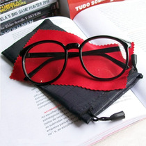 Geek & Charming - Armação Importada Retrô Para Óculos- Preta