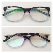 Armação Óculos De Grau Acetato Feminino Dg3107