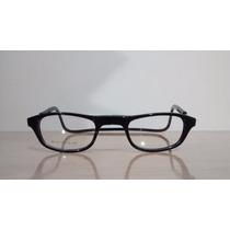 Armação Óculos Click Ima P/ Colocar Grau Magnético