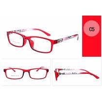 Armação Infantil Óculos De Grau Hello Kitty - Vermelho