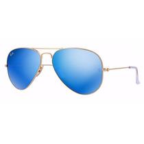 Oculos Rb3025 Ou Rb3026 Aviador Espelhado + Frete Gratis